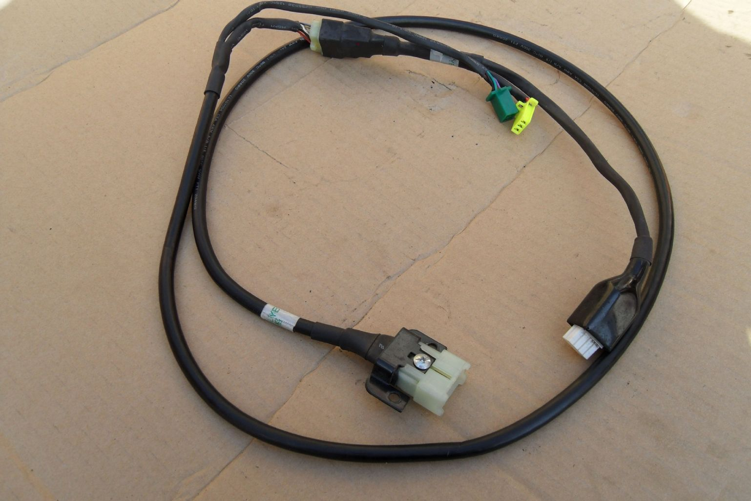 Front wiring harness to fit an electric mobility rascal