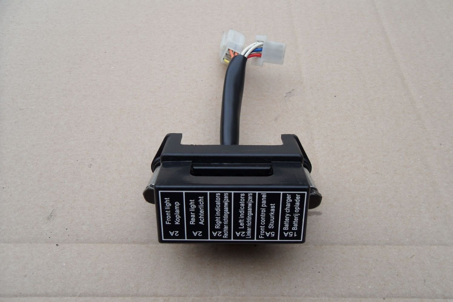 A Fuse Box for a Sunrise / Sterling Onyx Mobility Scooter PMO15